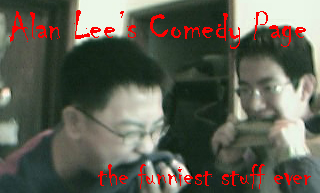 Alan Lee's Comedy Site